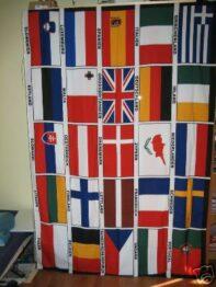 25 landen vlag