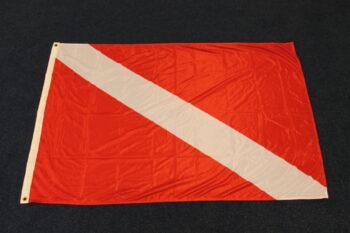 Duik of PADI vlag 100x150cm
