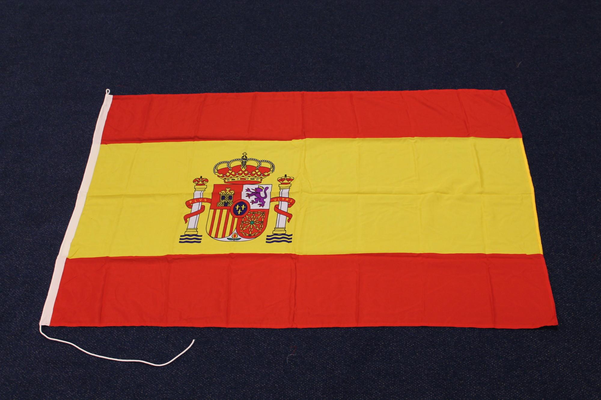 Vlag Van Spanje Wimpelkoning Nl