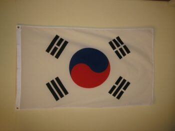 Zuidkorea vlag
