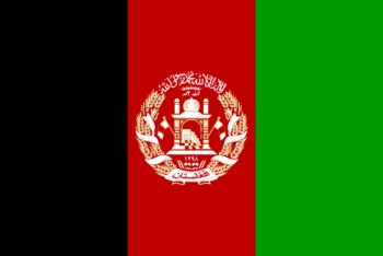 Vlag van Afghanistan