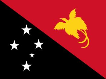 Vlag van Papoea Nieuw-Guinea