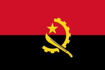 vlag Angola