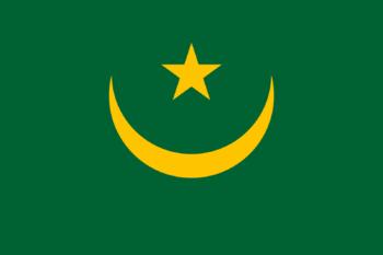Mauritania vlag