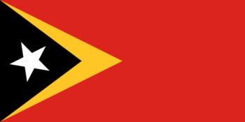 Timor Leste vlag