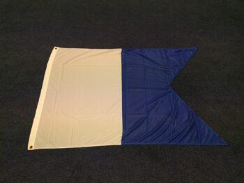 Duik Alfa vlag